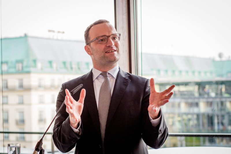 Jens Spahn bei Rede