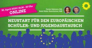 Webinar Ankündigung Neustart in den europäischen Jugendaustausch
