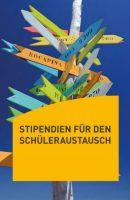 Titelblatt des Stipendienflyers